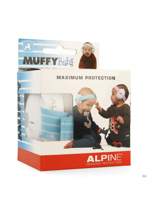 Alpine Muffy Casque Auditif Baby Bleu3632619-20