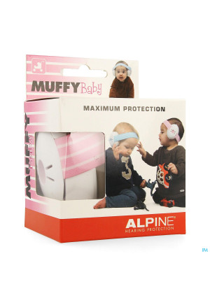 Alpine Muffy Casque Auditif Baby Pink3632627-20