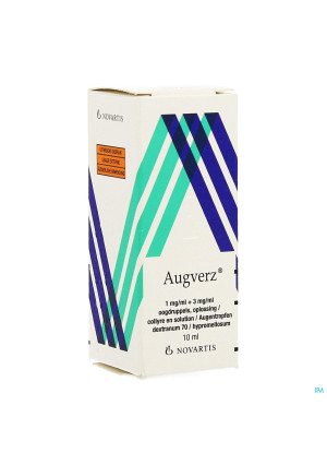 Augverz 1mg/ml + 3mg/ml Collyre Sol 1 X 10ml3650710-20