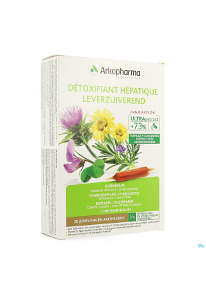Arkofluide Detoxifiant Hepatique Amp 20x10ml3674413-20