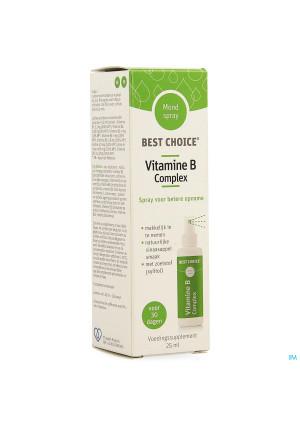 Best Choice Spray Bouche Vitamine B Complex 25ml3680352-20