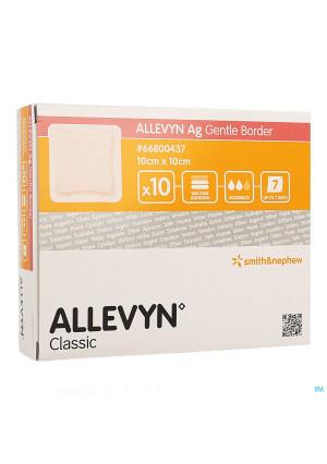 Allevyn Ag Pans Adhesive Silic. 10x10cm 103686854-20