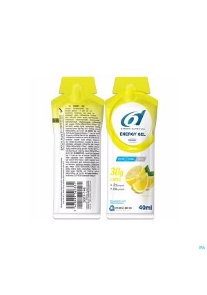 6d Sixd Energy Gel Lemon 12x40g3687753-20