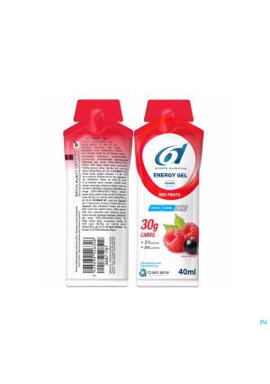6d Sixd Energy Gel Red Fruits 12x40g3687795-20