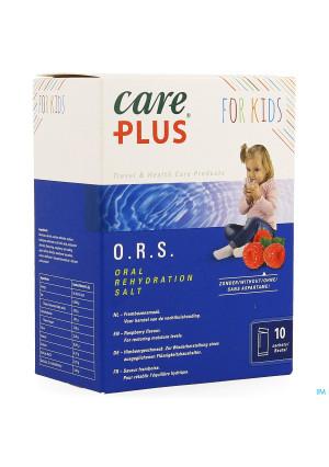 Care Plus Ors Kids Raspberry Sachet 10x5,3g3691219-20