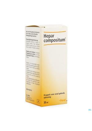 Hepar Compositum Sol Buvable Gutt 30ml3705035-20