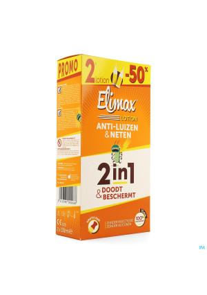 Elimax Lotion A/poux Fl 2x100ml3714862-20