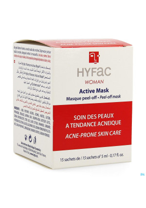 Hyfac Active Masque Peel Off 15x5ml3729290-20