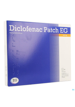 Diclofenac Patch Eg 140mg Emplatre 103734811-20