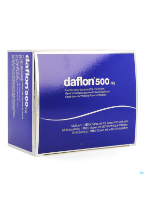 Daflon 500 Comp Pell 180 X 500mg3748779-20