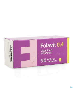 Folavit 0,4mg Comp 90x0,4mg Nf3761517-20