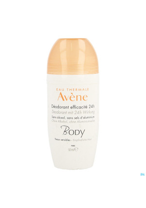 Avene Body Deodorant Efficacite 24h 50ml3762515-20