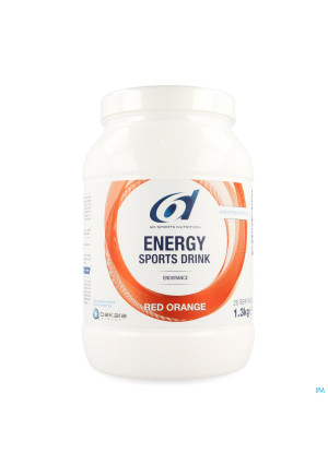 6d Sixd Energy Sports Drink Red Orange Pdr 1,3kg3764644-20