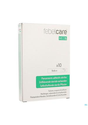Febelcare Med6 Pansem. Adhesifs Steril.10x8cm 10pc3767258-20