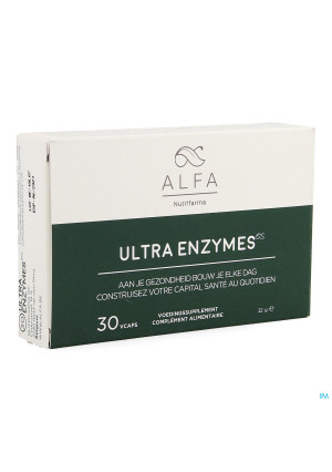 Alfa Ultra Enzymes Vcaps 303834025-20
