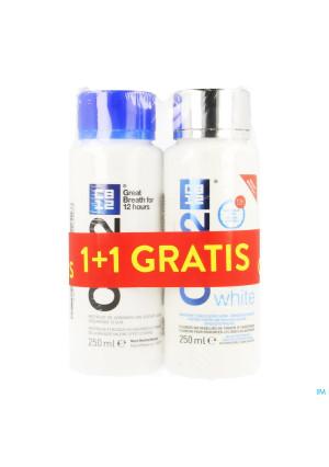 Cb12 Eau Buccale Menthe 250ml + White 250ml Grat.3879053-20