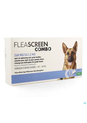 Fleascreen Combo 268mg/241,2mg Spot On Chien Pip.33903242-20