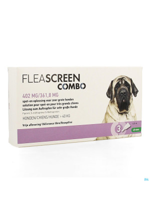 Fleascreen Combo 402mg/361,8mg Spot On Chien Pip.33903259-20