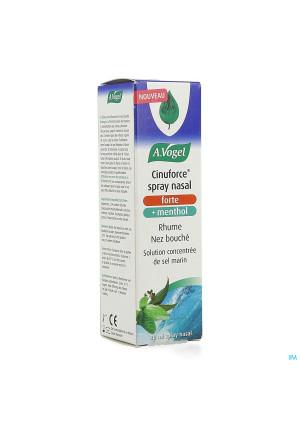 A.Vogel Cinuforce Spray nasal forte + menthol 20ml3910692-20