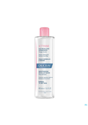 Ducray Ictyane Eau Micellaire Fl 400ml3920444-20