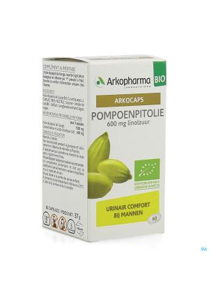 Arkogelules Huile Pepins Courge Bio Caps 603954591-20