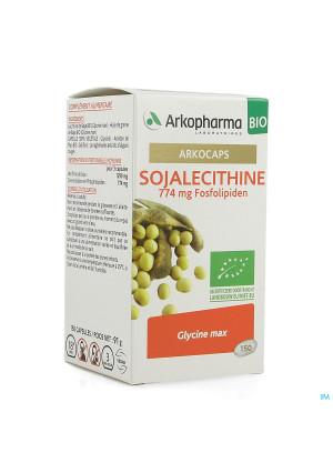 Arkogelules Lecithin Soja Bio Caps 1503954658-20