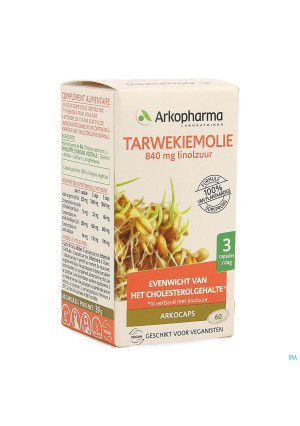 Arkogelules Huile Germes Ble Bio Caps 603954666-20