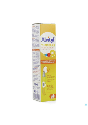 Alvityl Vitamine D3 Spray 10ml3959814-20