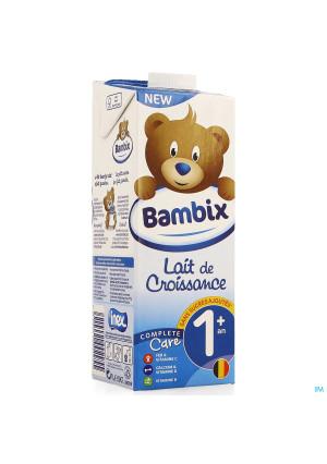 Bambix Lait Croissance Nature 1+ 1l3967619-20