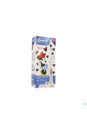 Oral B Kids D501 Smart Junior Minnie Brosse Elect.3968591-20