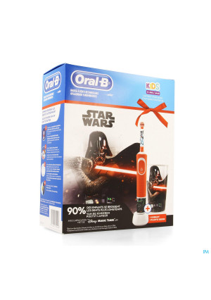 Oral B Kids D100 Star Wars + Eb10+ Gobelet Grat.3973583-20