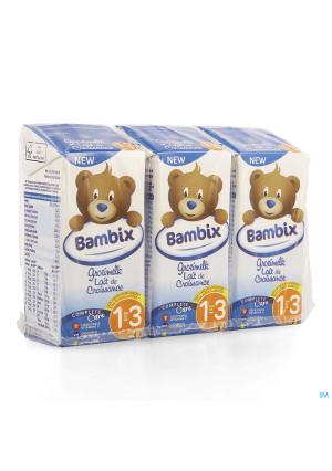 Bambix Lait Croissance Nature 1-3a 3x200ml3977147-20