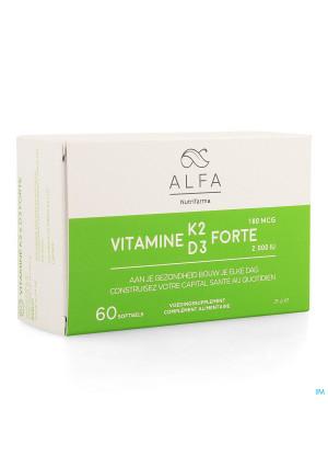 Alfa Vitamine K2 D3 Forte Softgel 604108429-20