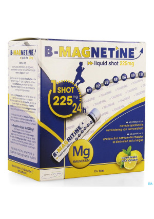 B-magnetine Liquid Shot 225mg 15x25ml Credophar4113486-20