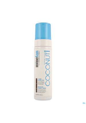Minetan Coconut Water Self Tan Foam 200ml4130019-20