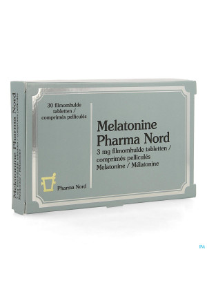 Melatonine Pharma Nord 3mg Comp Pell 30 X 3mg4131801-20