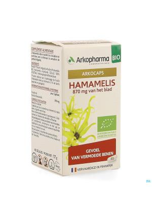 Arkogelules Hamamelis Bio Caps 45 Nf4137915-20