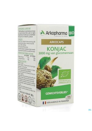 Arkogelules Konjac Bio Caps 150 Nf4137949-20