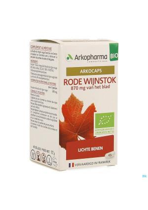 Arkogelules Vigne Rouge Bio Caps 45 Nf4138111-20