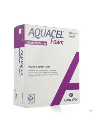 Aquacel Foam Non-adhesif 10x10cm 104155180-20