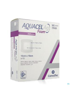 Aquacel Ag Foam Adhesif 10x10cm 104155248-20