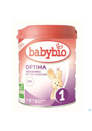 Babybio Optima 1 Lait Nourrissons 800g4167466-20