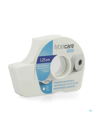 Febelcare Pore Sparadrap Microporeux 12,5mmx9,14m4192720-20