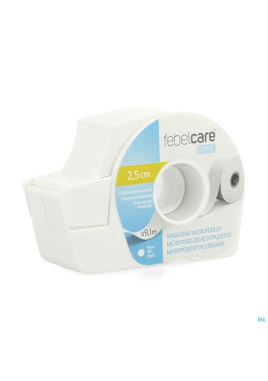 Febelcare Pore Sparadrap Microporeux 25mmx9,14m4192738-20