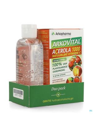 Arkovital Acerola Duopack Comp 60 +gel Hydro 100ml4211439-20
