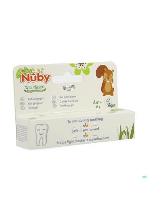 Nuby Gel Gingival 4m+ 15g4217246-20