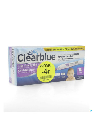 Clearblue Test Ovul Advanced 10 Promo-4€4234464-20