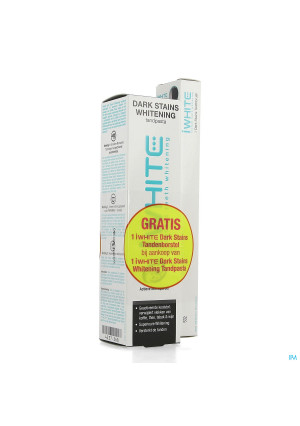 Dentifrice Iwhite Dark Stains Whitenig Tube 75ml4237368-20