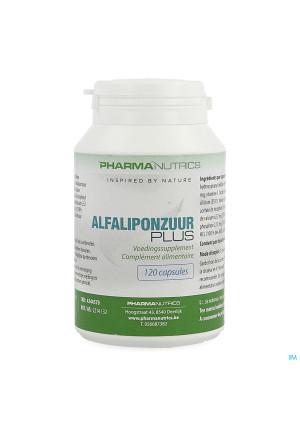 Alfaliponzuur Plus V-caps 120 Pharmanutrics4244570-20