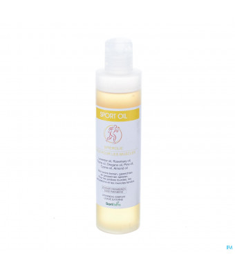 Soria sport oil (massageolie) 200 ml0612564-31